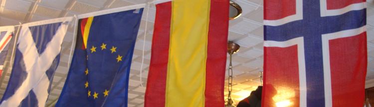 banderas náuticas para barcos.