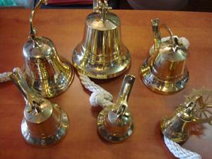 campanas de decoración náutica.