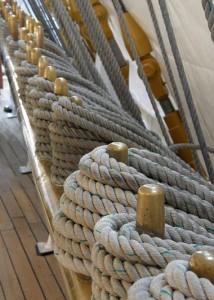 costuras en cabos