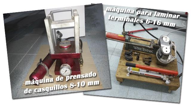 maquinaria para elaborar rigging